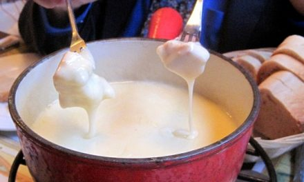 Fondue For Winter From Lausanne, Switzerland