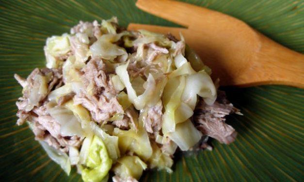 KALUA PORK AND CABBAGE: Camp Imu Or Pressure Cooker?