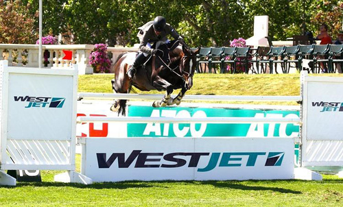 Todd Minikus And Con Capilot Soar To Number One In $34K WestJet Cup At Spruce Meadows