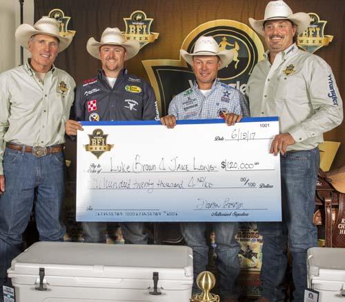 Winning ropers earn $120,000 at BFI in Reno