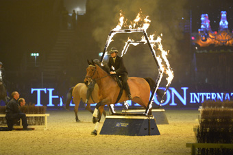 The Magnificent Met Mounted Police Return To Olympia, The London International Horse Show