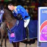 18-year-old super-stallion retires in emotional finale; Colombia's Carlos Lopez finishes a close second ahead of Netherlands' Harrie Smolders in third